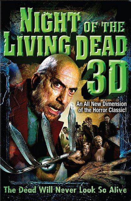 La Noche de los Muertos Vivientes en 3D portada