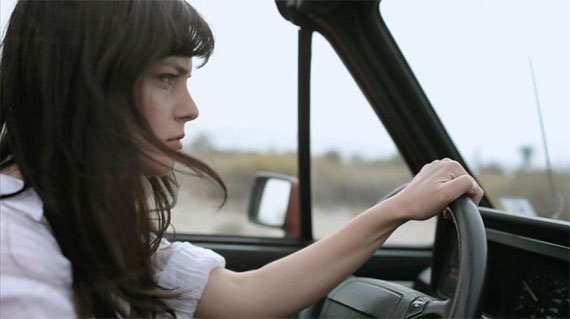 car lady