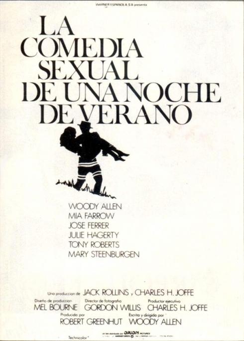 comedia sexual de una noche de verano portada