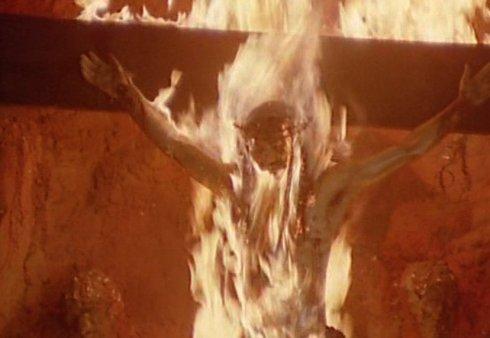 se quema el cristo