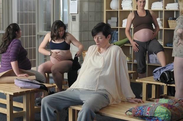 eva embarazada