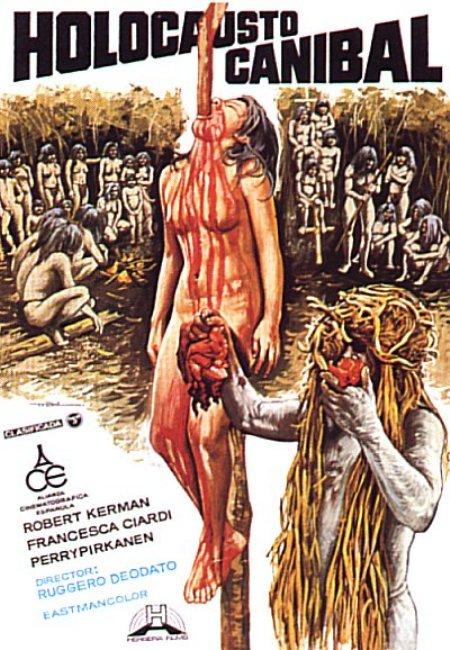 Holocausto Canibal Portada