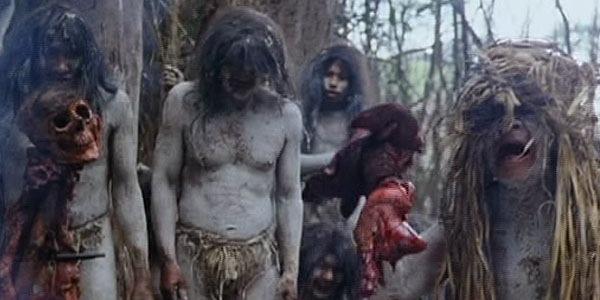 holocausto canibales tribu