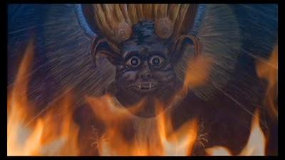 retrato de diablo satanico pandemonium