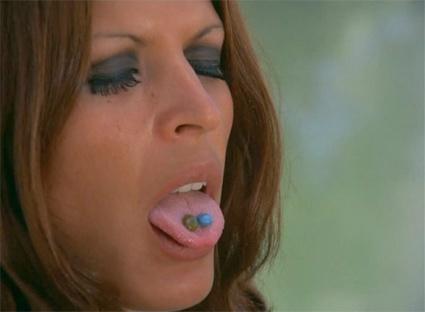 piedras en la lengua