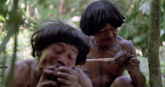 tribu canibal con su monchis