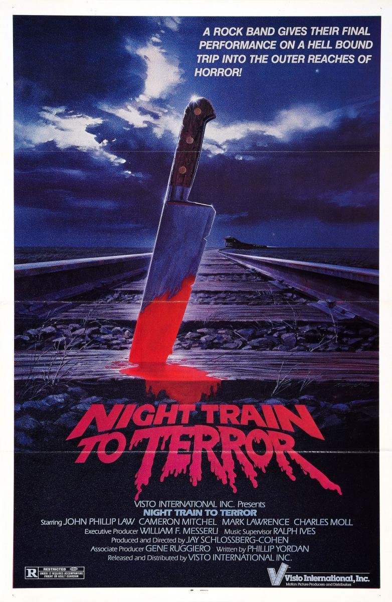Noche en el Tren del Terror portada